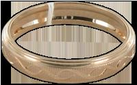 Красное золото  Красное золото - сплав золота, меди и цинка - очень прочный и одновременно податливый в обработке ювелирный материал.  Украшения из красного золота стоят дешевле, чем из желтого, но выглядят впечатляюще. Такие золотые украшения часто инкрустируют драгоценными камнями - бриллиантами, гранатами, рубинами, что придает им особый шик.   Отличительная черта золотых украшений из красного золота - их прочность и долговечность, и эти свойства материала позволяют мастерам ювелирного дела создавать сложные, ажурные узоры в ювелирных изделиях.   Под красным золотом подразумевается сплав 585 пробы, очень популярный в бывшем Советском Союзе. В европейских странах красное золото считается низкокачественным - там популярен сплав желтого цвета, но у желтого сплава меньше вариантов для оформления изделия из-за сложности его обработки.  Красное золото очень популярно на территории стран СНГ!    Жёлтое золото  Желтое золото высоко ценится за свой солнечный цвет, наиболее приближенный к самородному золоту, в его состав входят медь и серебро. Если меди в сплаве больше, чем серебра, то его цвет приобретает красноватый оттенок, а если в желтом золоте больше серебра, чем меди - тогда оно приобретает яркий солнечный цвет.   Цвет сплава не связан с пробой, поэтому желтое золото может быть таких же проб, что белое или красное. Наиболее распространенные пробы для желтого золота 585, 750 и редкая - 958.  Желтое золото вполне самодостаточно как украшение, ему не нужны дополнения в виде изысканных орнаментов или драгоценных камней.  Желтое золото имеет более низкую стоимость по сравнению с белым аналогом, при этом обладая большой долговечностью.  Сплав не покрывают специальными антиокислителями.    Розовое золото  Розовое золото применяется в изысканных, сложных украшениях, которые сохраняют первоначальный внешний вид даже несколько веков спустя после создания.   Драгоценные камни в оправе из розового золота приобретают глубокий, насыщенный, ясный цвет. Бриллианты в украшениях из р