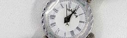 Серебряные женские часы с амазонитом